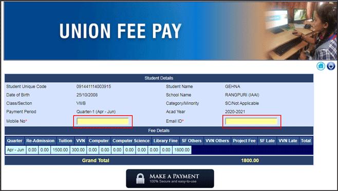 kvs-fee-details    kvskolkata.org.in