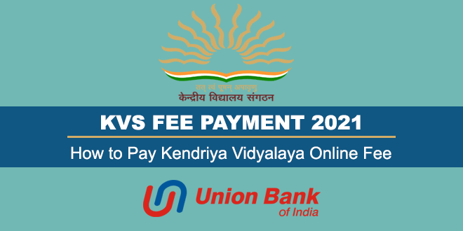 KVS Fee Payment 2021